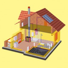 Отопление частного дома или коттеджа